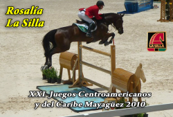 Rosalia La Silla - XXI Juegos Centroamericanos y del Caribe Mayaguez 2010